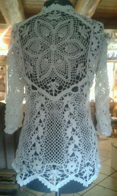 Back of latest blouse by GrammaLiza 8.2.2013