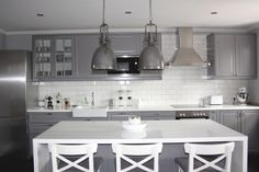 Ikea grey kitchen remodel Little Houses, Kitchen Remodel, Ikea, Photos, Furniture, Home Decor, Small Houses, Homemade Home Decor, Tiny Houses