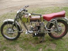Hubbard Steam-Powered Motorcycle