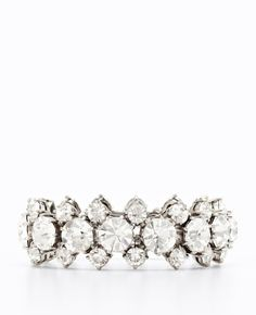 Ann Taylor - AT Weddings Shoes Accessories - Crystal Stretch Bracelet