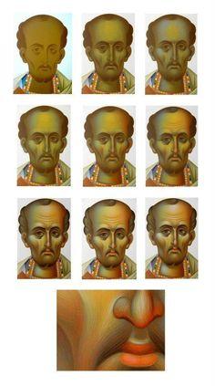 Byzantine Art, Byzantine Icons, Religious Icons, Religious Art, Writing Icon, History Icon, Paint Icon, Creativity Exercises, Face Icon