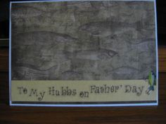 Father's Day for Hubby