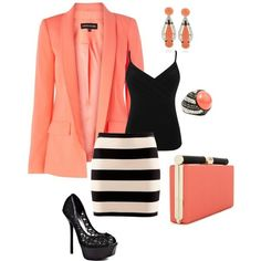 Minus the jewelry  and a little longer skirt and =Awesome apostolic outfit