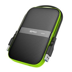 Silicon Power 2 TB External Portable Hard Drive Rugged Armor Shockproof Water-Resistant USB , Military Grade & for PC/Mac/Xbox One/Xbox Black Usb, Ps4 Black, Cable Storage, Portable External Hard Drive, Disco Duro, Hard Disk Drive, Color Negra, Linux, Computer Accessories