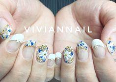 いいね!108件、コメント1件 ― viviannailさん(@rie_anzai)のInstagramアカウント: 「#nail #nailartaddict #nailinstagram #viviannail #美甲#指甲#美爪#RAPIGEL#fashion#ネイル#秋ネイル#japanesenail…」