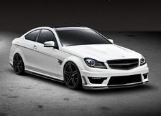 YUP. My latest fixation. Flat White, Mercedes C63 AMG. 0-60 in 4 Seconds.