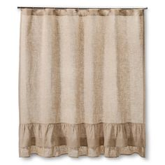 Farmhouse cottage bathroom shower curtains 49 ideas for 2019 Primitive Shower Curtains, Burlap Shower Curtains, Shabby Chic Shower Curtain, Diy Curtains, Bathroom Shower Curtains, Melrose House, Rustic Bathrooms, Fancy Bathrooms, Decoration