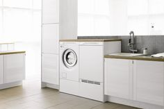 At ASKO, we make environmentally-friendly kitchen and laundry appliances with a focus on durability! Discover the best appliances today! Laundry Appliances, Home Appliances, Laundry In Bathroom, Washer And Dryer, Washing Machine, Drawers, Pedestal, Concepts, Design