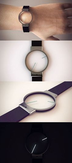 Minimal Analog Watch Design