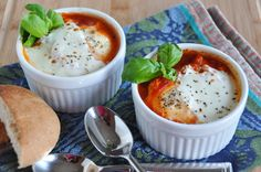 Nutrition in Eggs & Recipe for Poached Eggs in Tomato Sauce - Nutritious Eats