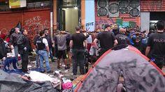 #Polícia: Polícias Civil e Militar realizam operação na Cracolândia, no Centro de SP