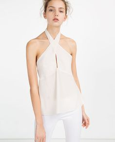 HALTER NECK TOP could be a pretty option for the Summer POS shoot.