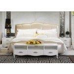 $2,458.00 VIG Furniture - Clover - Elegant Bed - VGSLE-CLOVER
