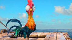 Heihei Moana Disney Movie Chicken Wallpaper