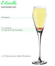 Recette Cocktail L'ETINCELLE