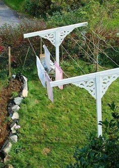Love theis clothes line!