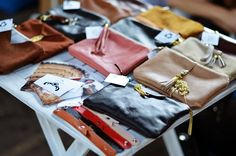 My leather pouches on Swag Show Silesia fair in Poland