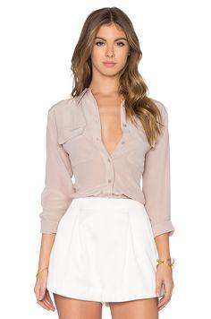 #REVOLVEclothing #equipment #blouse #vintage #slimfit #allyear