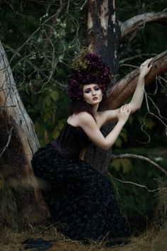 Yuliya Rae (Zipperture Photography) - Andrea Parlette - h Sarah Thomas (DiabolicBeauty) - mua Sable Desiree (facesbysabledesiree) - wardrobe Ryan LeRue (House of 1000 Corsets ryanlerue112) - hdpc by phg - Wilted