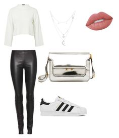 """""""Look , Sportwear Chic"""" by mathis-weks on Polyvore featuring mode, The Row, Topshop, adidas, Marni, Charlotte Russe et Lime Crime"""
