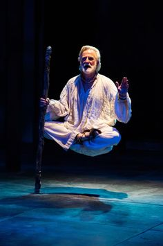 Henry Woronicz as Prospero in the Utah Shakespeare Festival's 2013 production of The Tempest. (Photo by Karl Hugh. Copyright Utah Shakespeare Festival 2013.)