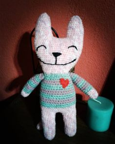 16 Me gusta, 1 comentarios - Pata de lana 🐾 (@pata_de_lana_crochet) en Instagram Lana, Dinosaur Stuffed Animal, Toys, Animals, Instagram, Tejidos, Activity Toys, Animales, Animaux
