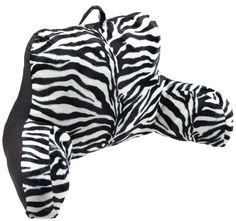 Brentwood Animal Fur Bedrest, Zebra.  List Price: $39.99  Buy New: $19.97  You Save: 50%  Deal by: SmartPillowShoppers.com