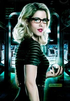 Don't really know what I love about Felicity, maybe because she's the closest thing Arrow has to Barbara? Plus I ship her and Oliver so hard...