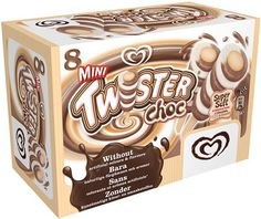 Walls Twister Mini - chocolate flavour 2½  Syns each
