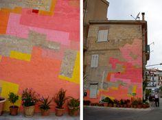 Kitty as a Picture Surface Design Blog: Illustration Pattern Fashion: Spanish Street Artist Nuria Mora