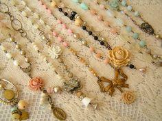 Necklaces by andrea singarella, via Flickr