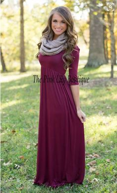 Cute maxi dress with scarf. Stitch fix outfit ideas