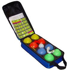 LED Bocce : Petanque set : Light up and Glo -