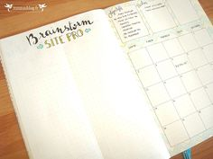 Monthly Log Bullet Journal Septembre #6