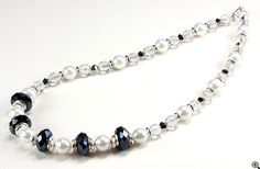 Jewelry Making Idea: Pearlfection Necklace (eebeads.com)