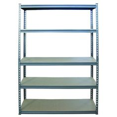 Work Tuff 5 Tier Shelf 5MDF