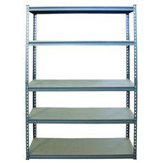 Work Tuff 5 Tier Shelf 5MDF