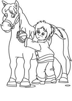 bibi und tina ausmalbilder - kids-ausmalbildertv | ausmalbilder, malvorlagen, ausmalen