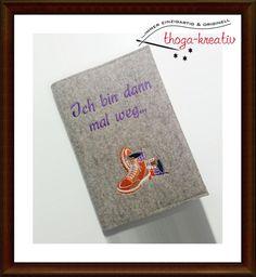 DIN A5 - ☆ Notizbuch / Tagebuch/Reisetagebuch ☆ - ein Designerstück von thoga-kreativ bei DaWanda