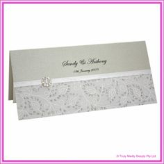 Diy wedding invitation filigree silver diamante buckle diy invitation kit from bomboniere brisbaneom 317 solutioingenieria Image collections