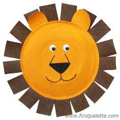 Paper Plate Animals Craft | Kids' Crafts | FirstPalette.