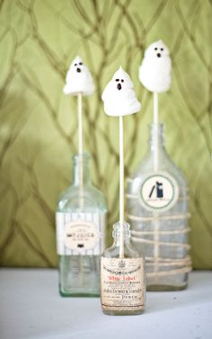 15 Sweet Ways to Decorate With Halloween Candy via Brit + Co.