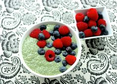 Matcha Green Tea Chia Pudding | The Full Helping