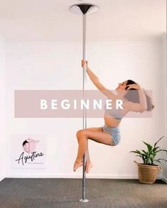 Pole Fitness Moves, Pole Dance Moves, Pole Dancing Fitness, Fitness Exercises, Workouts, Pole Dancing For Beginners, Pole Classes, Pole Tricks, Aerial Dance