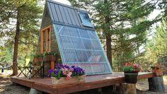 Adorable A-Frame Cabin  - CountryLiving.com
