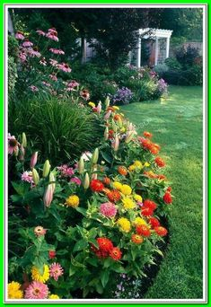 Revamping it into an incredible, eatable landscape! This is one of those good cheap landscape ideas for tummy of house that will be beneficial for months to come! *** Click the image link for more details. Flower Garden, Flower Bed Designs, Planting Flowers, Small Flower Gardens, Plants, Yard, Outdoor, Landscaping With Rocks, Landscape