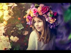 DiY tutorial: floral crown or headpiece - https://www.youtube.com/watch?v=-6xsG_ACb0Y