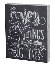 Primitives by Kathy Little Things Wall Sign | zulily