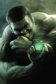 #Hulk #Fan #Art. (Indestructible Hulk #15 cover) By: Nisachar. ÅWESOMENESS!!!™ ÅÅÅ+