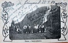 Setesdal,Norway wedding , c 1908.